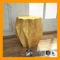 3dsmax kare gold table