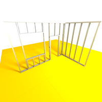 wall construction studwalls 3d model