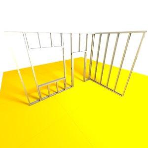 wall construction studwalls 3d model