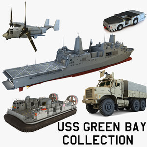 3d uss green bay model