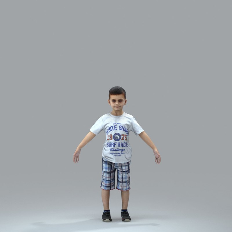 3d axyz body rigged
