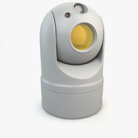 3d thermal camera surveillance