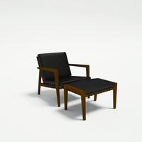 3ds max ritzwell blava726 1665 chair