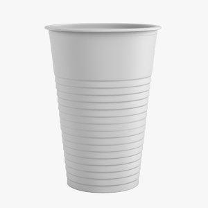 3d 3ds plastic cup