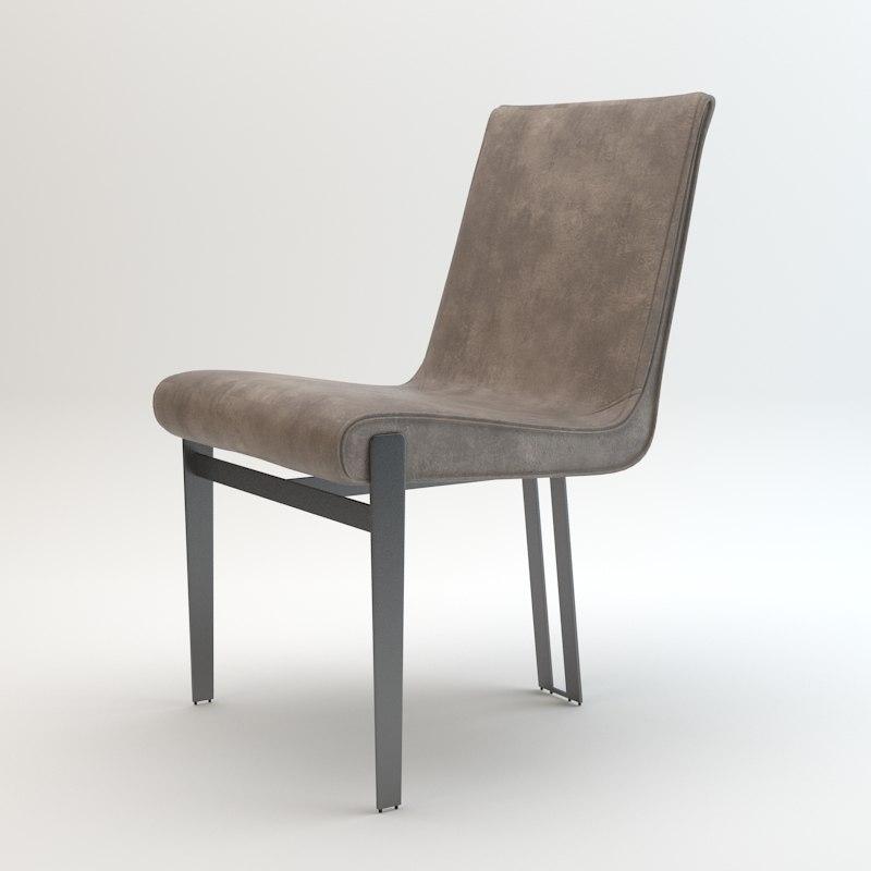arketipo venus chair 3d model