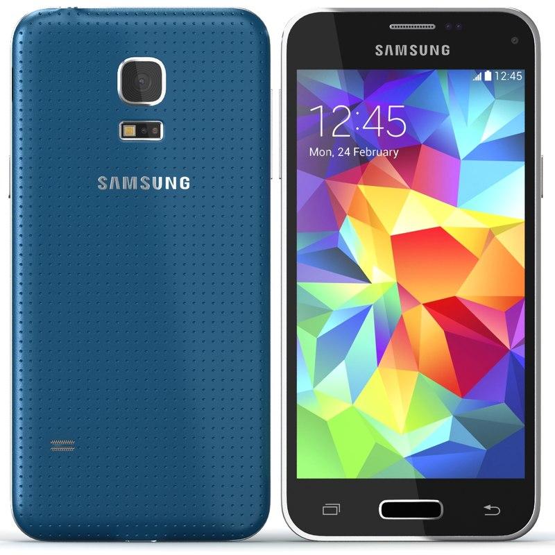 3d model samsung galaxy s5 mini