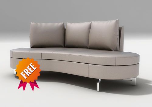 free 3ds model couch sofa