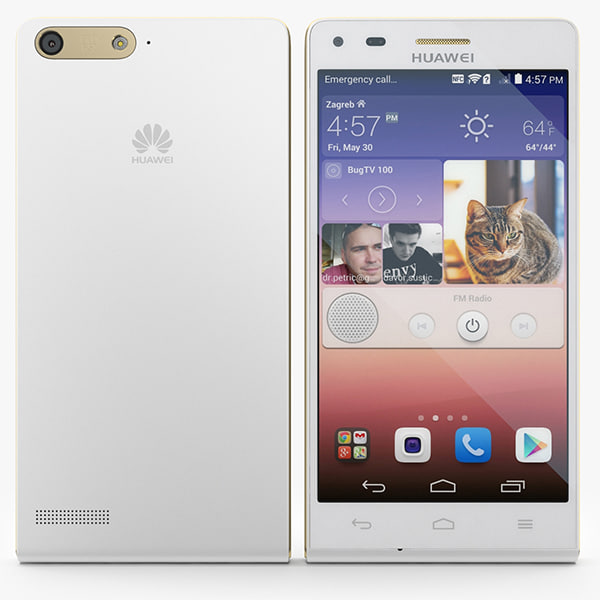 3d 3ds huawei ascend p7 mini