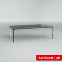 table dining 3d model