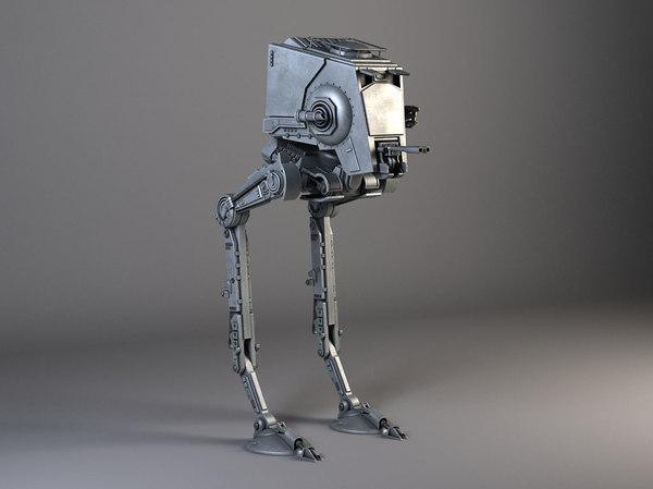 3d model st star wars
