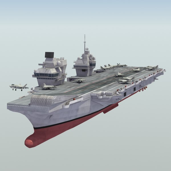 3ds royal navy aircraft carrier
