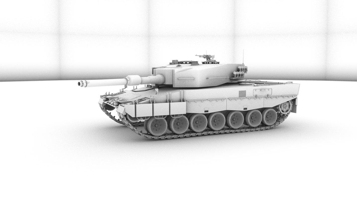 leopard 2a4 3d ma