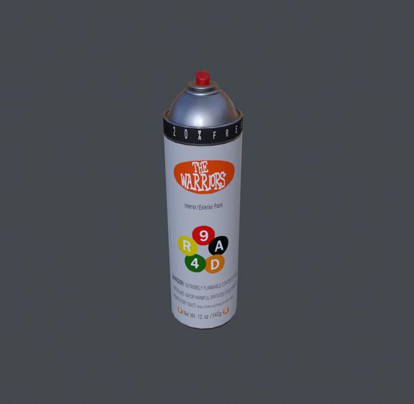 3d max spray