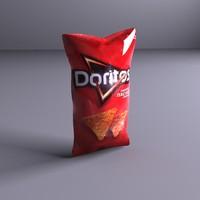 chip bag 3d ma
