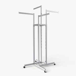 3d model clothes stand
