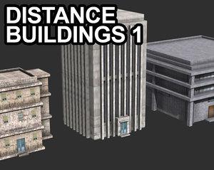 distance 3d model