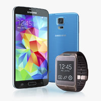 Samsung GALAXY S5 and Samsung Gear 2