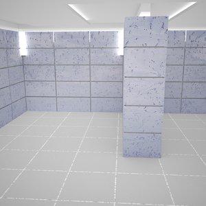 max room 8000x8000x3000 mm
