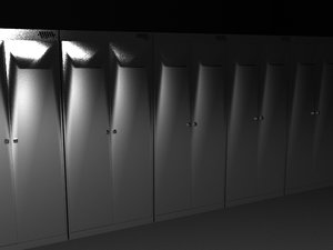 3d locker college