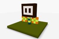 free flower 3d model