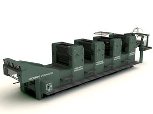 3d offset printing model