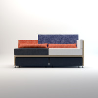 lovebird sofa 3d model