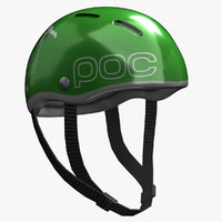 3d model realistic bicycle helmet