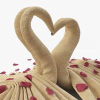 3ds max towel petal cloth
