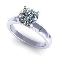 model diamond ring