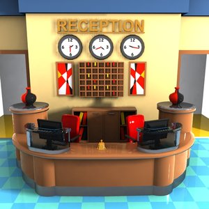 cartoon reception max