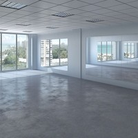 Gym Empty Interior
