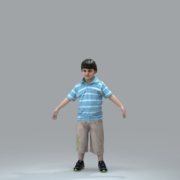 3d axyz body rigged model