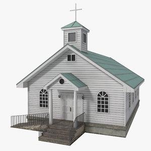 3d 3ds catholic church