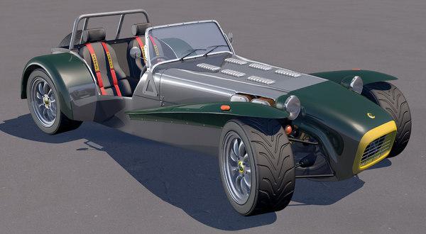 obj seven sports car
