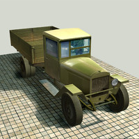 ZIS-5v truck with a body