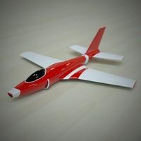 3d concept jet model