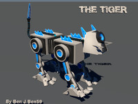 robot the tiger