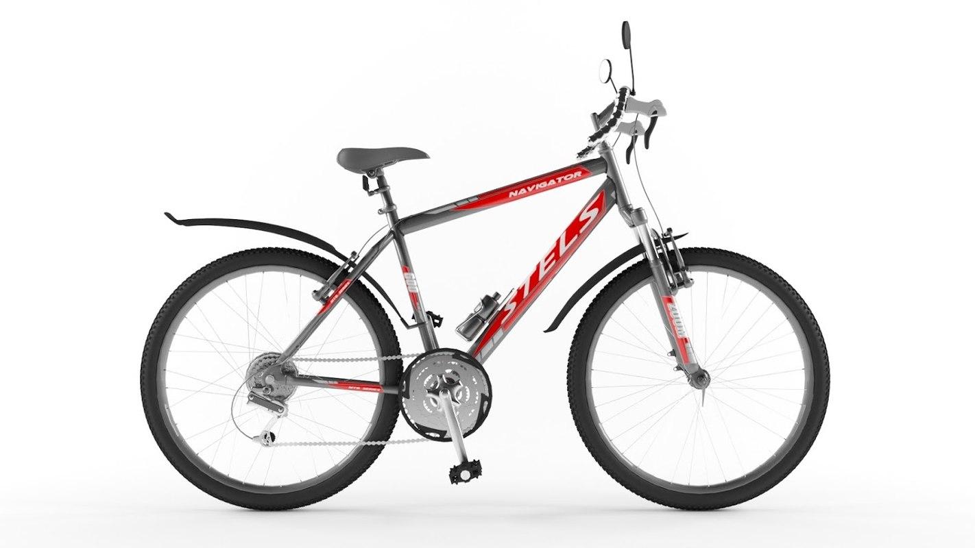 3d bicycle stels navigator 600