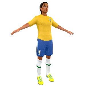 max female soccer player
