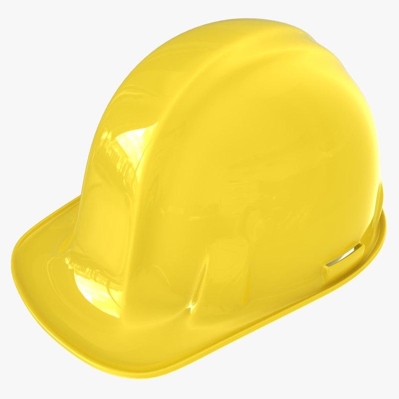 hardhat hard hat 3d model