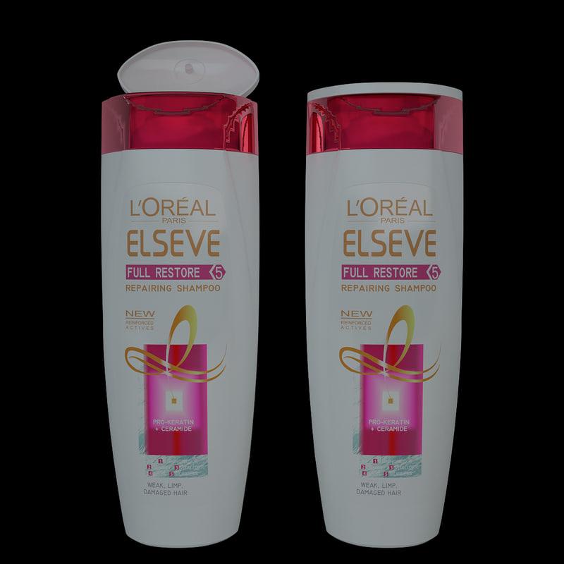 3ds max shampoo loreal elvive restore