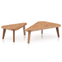 Two Triangle Coffee Tables