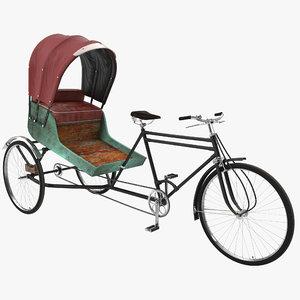 3ds bike rickshaw 2