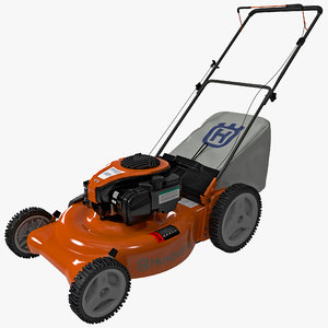 lawn mower husqvarna 5521p 3d model