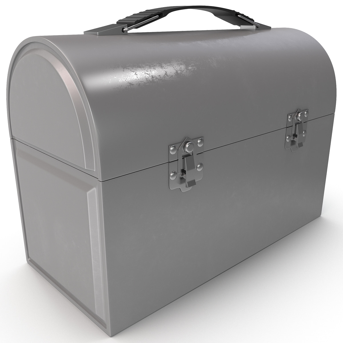 3d dome lunch box model