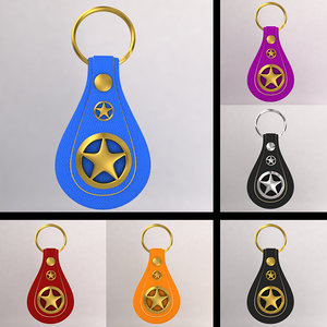 keychain color 3d model