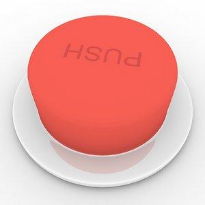 button 3d model