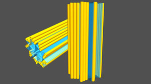 centriole structure obj