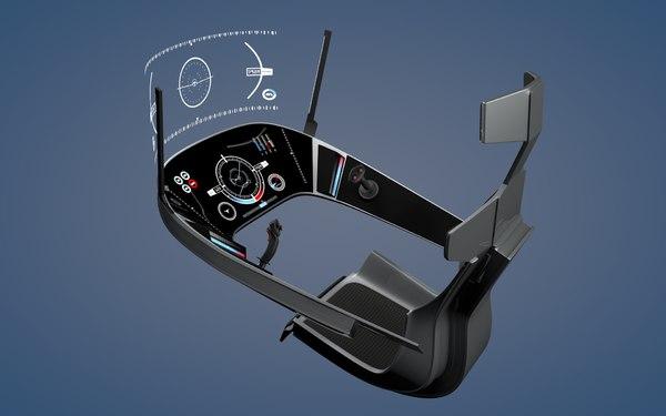 3d model spaceship cockpit