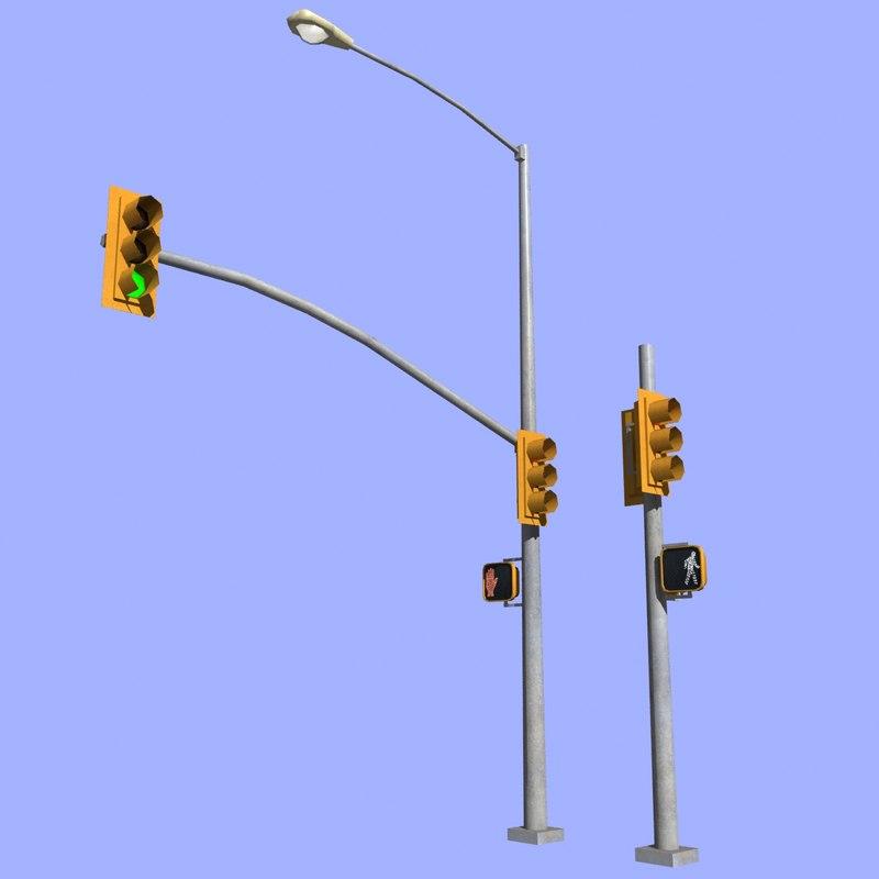 3d traffic light mht-01-pt1